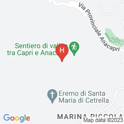 Mappa VILLA MARINA CAPRI HOTEL & SPA