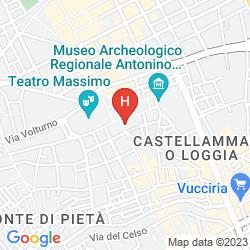 Mappa ALBERGO VERDI