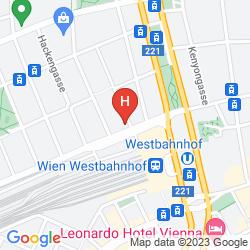 Mappa ARTHOTEL ANA WESTBAHN