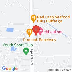 Mappa PARADISE ANGKOR VILLA