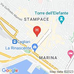 Mappa CAGLIARI NOVECENTO
