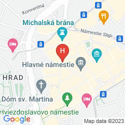 Mappa OLD CITY HOTEL