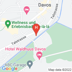 Mappa HOTEL CRESTA