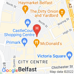 Mappa IBIS BELFAST CITY CENTRE