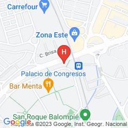 Mappa M.A. SEVILLA CONGRESOS