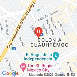 Mappa SUITES CONTEMPO