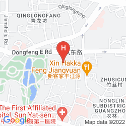 Mappa GARDFORD INTERNATIONAL HOTEL