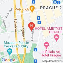 Mappa OLD TIME HOTEL PRAGUE