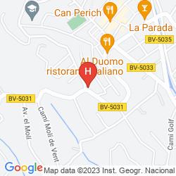 Mappa VILA CLARA ART HOTEL