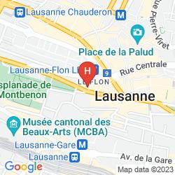 Mappa IBIS LAUSANNE CENTRE