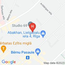 Mappa ROYAL CASINO SPA & HOTEL RESORT
