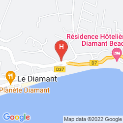 Mappa RESIDENCE MARINE HOTEL DIAMANT