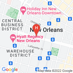Mappa HOMEWOOD SUITES BY HILTON NEW ORLEANS