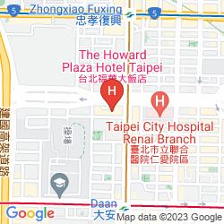 Mappa HOWARD PLAZA