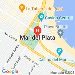 Mappa GRAND HOTEL SANTA TERESITA