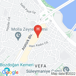 Mappa THE Q-INN HOTEL, OLD CITY