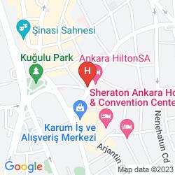 Mappa WARWICK ANKARA