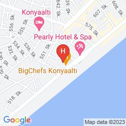 Mappa KAKTUS APART & HOTEL
