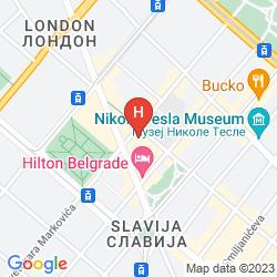 Mappa HOTEL PARK