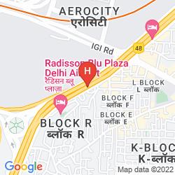 Mappa LA SAPPHIRE AIRPORT HOTEL