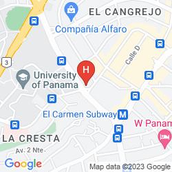 Mappa SUITE AMBASSADOR APART HOTEL