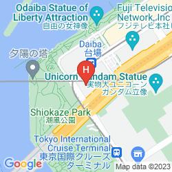 Mappa GRAND NIKKO TOKYO DAIBA