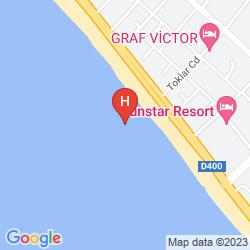 Mappa MIKADO HOTEL