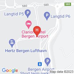 Mappa FIRST HOTEL MARIN