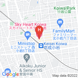 Mappa SKY COURT KOIWA