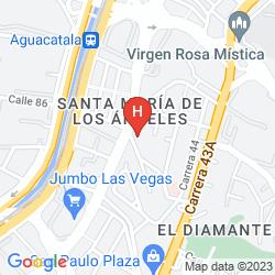Mappa PORTALES DEL CAMPESTRE