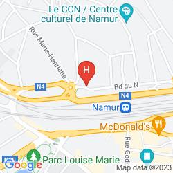 Mappa GRAND HOTEL DE FLANDRE