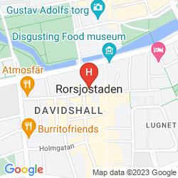 Mappa ELITE PLAZA HOTEL MALMO