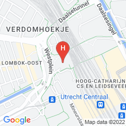 Mappa PARK PLAZA UTRECHT