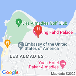Mappa LE MERIDIEN PRESIDENT