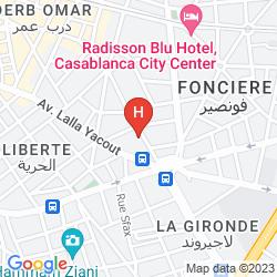 Mappa HOTEL AMOUD