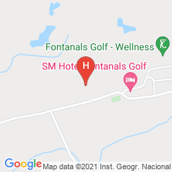 Mappa FONTANALS GOLF