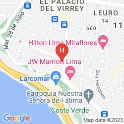 Mappa FERRE' MIRAFLORES