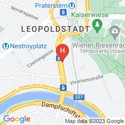 Mappa NOVUM HOTEL CRISTALL WIEN MESSE