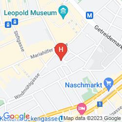 Mappa PENSION MOZART