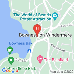 Mappa MACDONALD OLD ENGLAND HOTEL & SPA