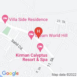 Mappa THALIA BEACH RESORT HOTEL