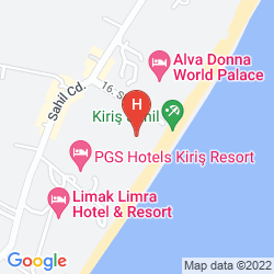 Mappa ALVA DONNA WORLD PALACE