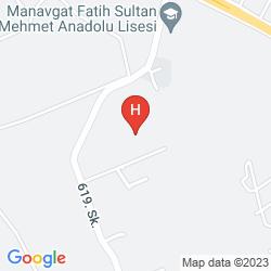 Mappa BELINDA HOTEL