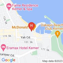 Mappa ARMA'S BEACH HOTEL