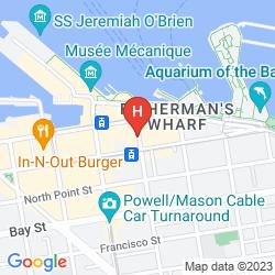 Mappa THE WHARF INN