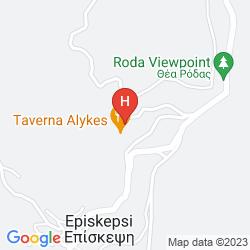 Mappa SUNSHINE CORFU HOTEL & SPA