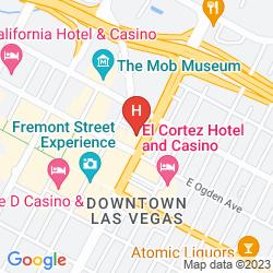 Mappa GOLD SPIKE HOTEL & CASINO