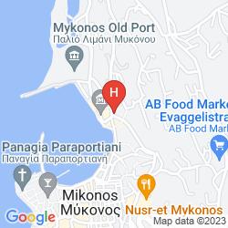Mappa PORTOBELLO BOUTIQUE HOTEL