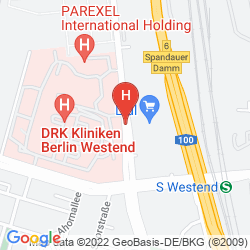 Mappa QUEENS PARK HOTEL