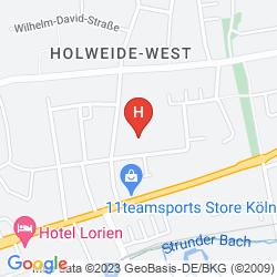 Mappa HOTEL SCHAVU IM HOLWEIDER HOF